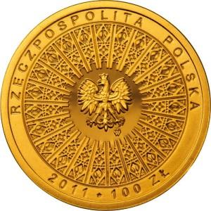 Awers Beatyfikacja Jana Pawła II - 1 V 2011 - 100zł