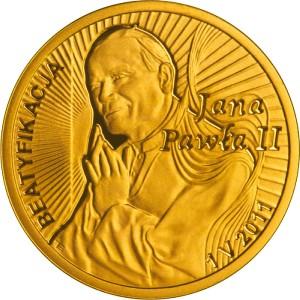 Rewers Beatyfikacja Jana Pawła II - 1 V 2011 - 100zł