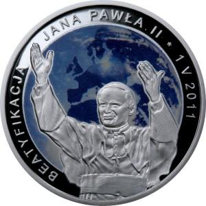Rewers Beatyfikacja Jana Pawła II - 1 V 2011 - 20zł