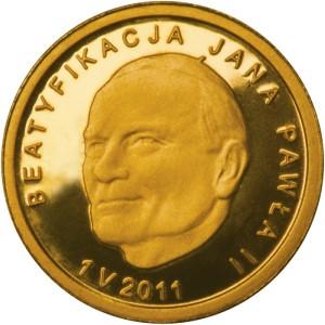 Rewers Beatyfikacja Jana Pawła II - 1 V 2011 - 25zł