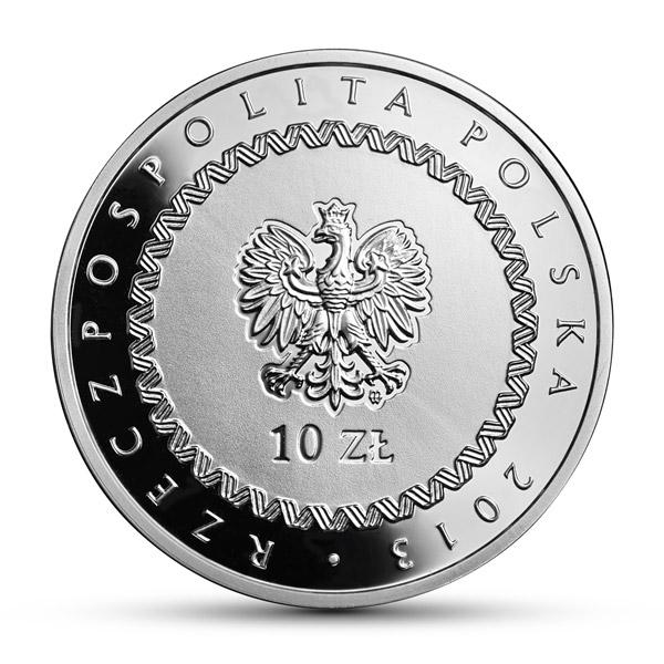 200. rocznica śmierci księcia Józefa Poniatowskiego, 10zł awers