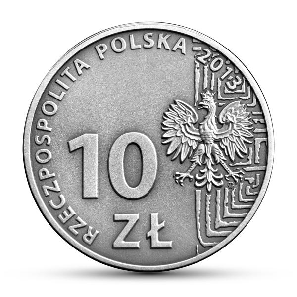 50-lecie działalności Polskiego Stowarzyszenia na Rzecz Osób z Upośledzeniem Umysłowym, 10zł awers